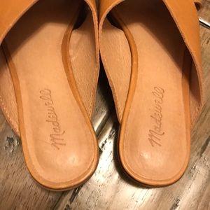 Madewell Shoes - Madewell Ruthie crisscross desert camel mule 8